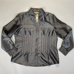 Coldwater Creek Tops - Coldwater Creek NWT Beaded Blouse